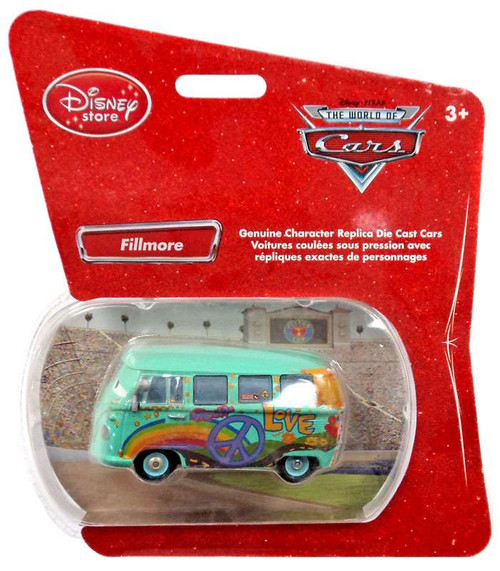 Disney Cars 1:48 Single Packs Fillmore Exclusive Diecast Car