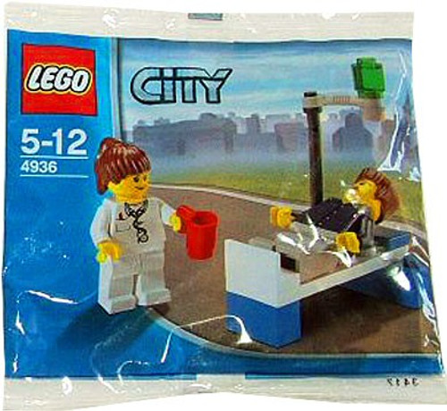 LEGO City Doctor & Patient Set #4936