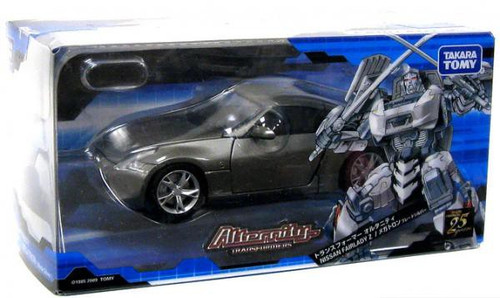Transformers Japanese Alternity Nissan Fairlady Z Megatron Action Figure A-02 [Silver]