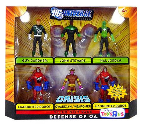 DC Universe Crisis Infinite Heroes Defense of OA Exclusive Action Figure Set