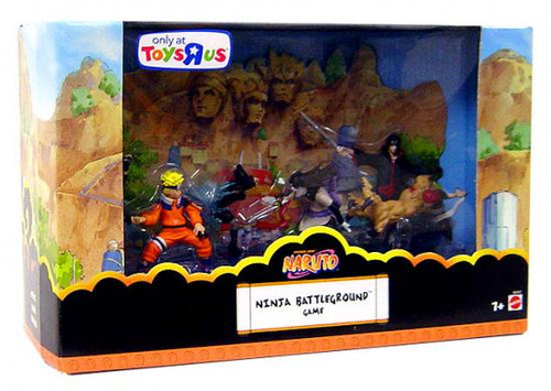 Naruto Series 1 Ninja Battleground Game Exclusive 3-Inch Mini Figure Set