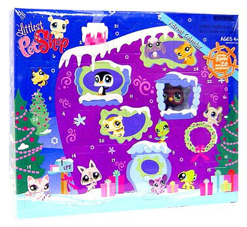 Littlest Pet Shop 2008 Advent Calendar Exclusive Figure Set