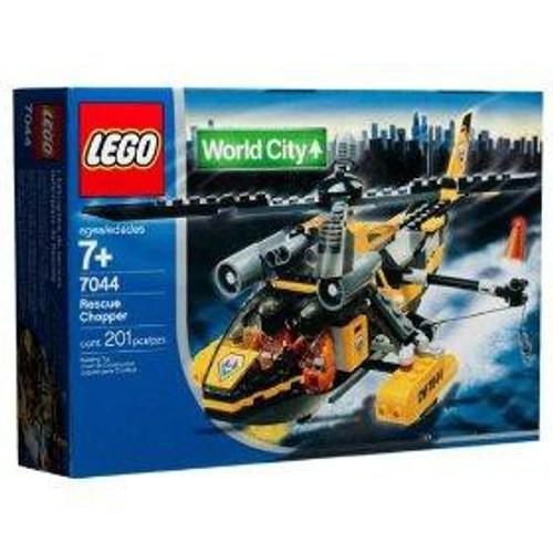 LEGO World City Rescue Chopper Set #7044