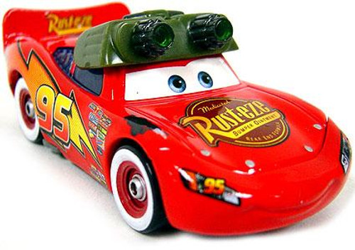 Disney Cars Loose Night Vision Lightning McQueen Diecast Car [Loose]