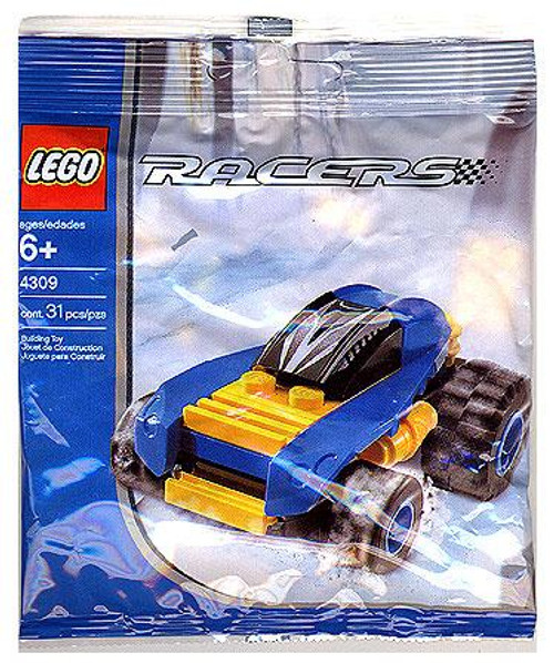 LEGO Racers Blue Racer Mini Set #4309 [Bagged]