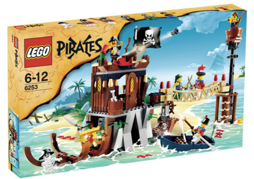 LEGO Pirates Shipwreck Hideout Exclusive Set #6253