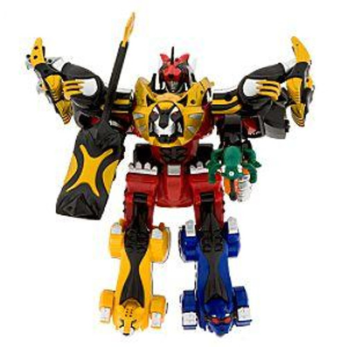 Power Rangers Jungle Fury Deluxe Ultimate Megazord Set Exclusive Action Figure