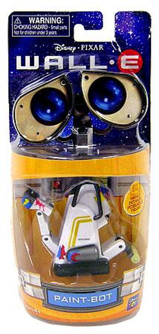 Disney / Pixar Wall-E 3 Inch Poseable Paint-Bot Mini Figure