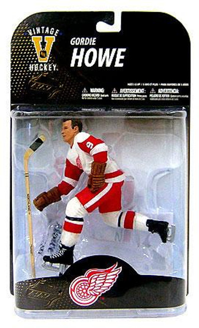 McFarlane Toys NHL Detroit Red Wings Sports Picks Legends Series 7 Gordie Howe Action Figure [White Jersey Variant]