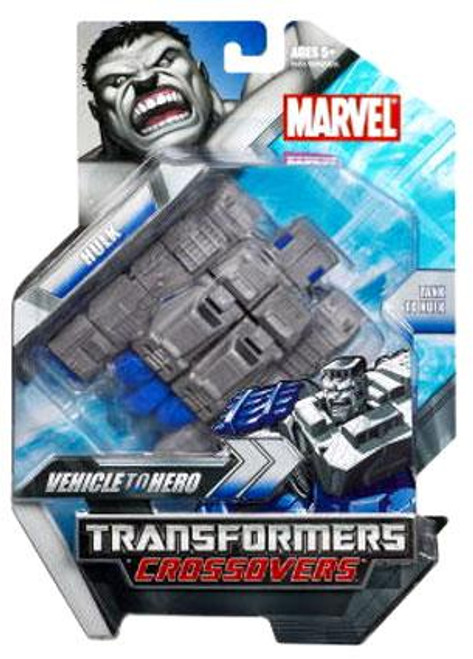 Marvel Transformers Crossovers Hulk Action Figure [Gray]