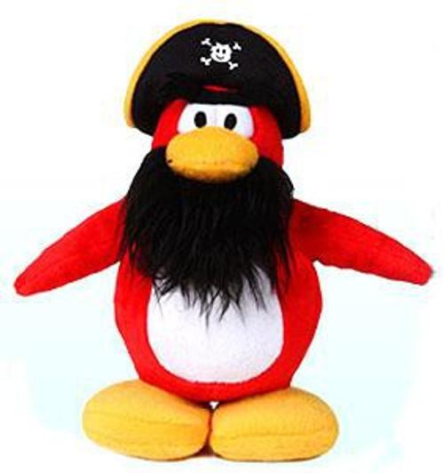 Club Penguin Series 1 Captain Rockhopper 6.5-Inch Plush Figure [Version 1]