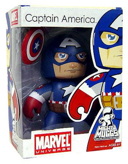 Marvel Mighty Muggs Series 5 Ultimate Captain America Vinyl Figure