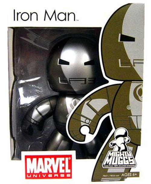Marvel Mighty Muggs Series 5 Prototype Armor Iron Man Vinyl Figure