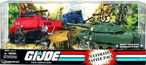GI Joe Ultimate Battle Pack Exclusive Action Figure Boxed Set