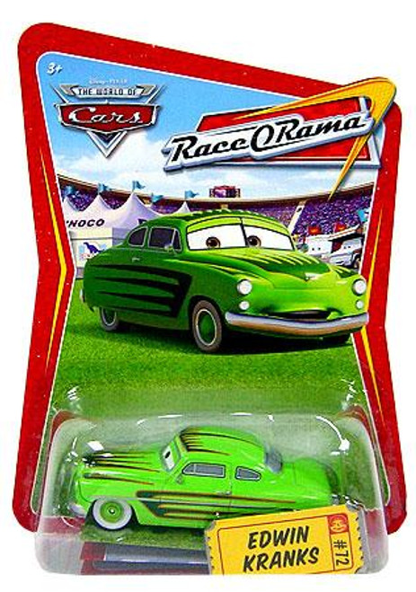 Disney Cars The World of Cars Race-O-Rama Edwin Kranks Diecast Car #72