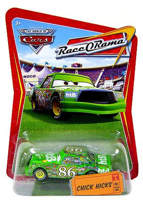 Disney Cars The World of Cars Race-O-Rama Chick Hicks Diecast Car #24