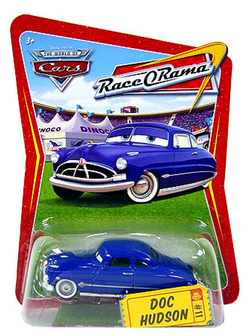 Disney Cars The World of Cars Race-O-Rama Doc Hudson Diecast Car #11