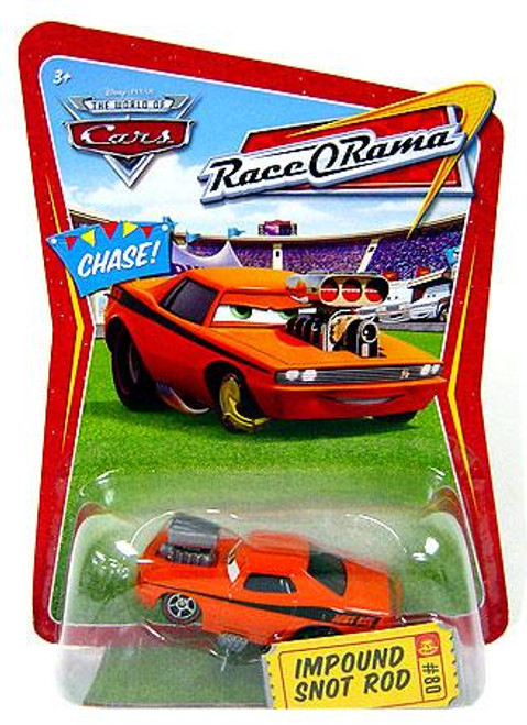 Disney Cars The World of Cars Race-O-Rama Impound Snot Rod Diecast Car #80