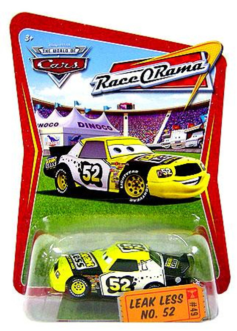 Disney Cars The World of Cars Race-O-Rama Leak Less No. 52 Diecast Car #49