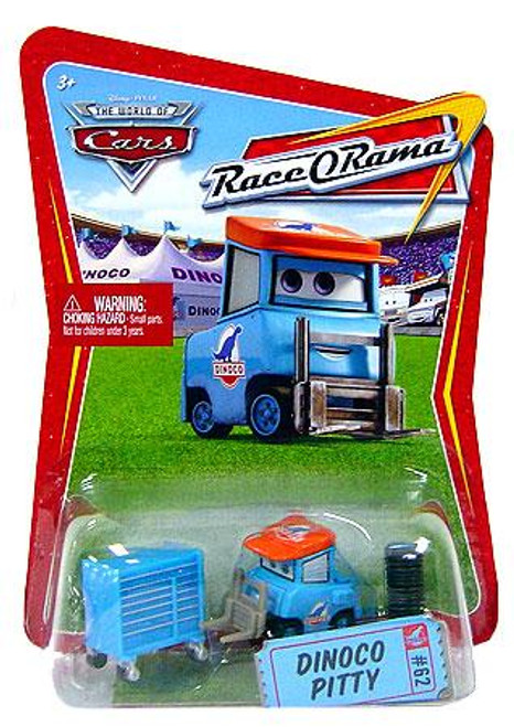 Disney Cars The World of Cars Race-O-Rama Dinoco Pitty Diecast Car #62