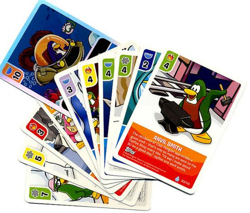 Card-Jitsu Basic Series 1 Club Penguin Lot of 11 Cards