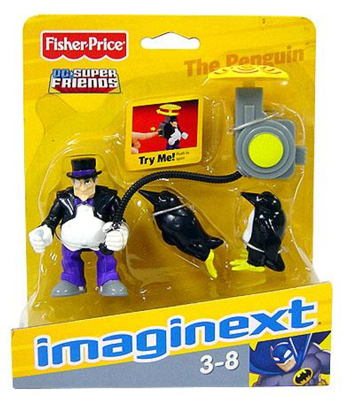 Fisher Price DC Super Friends Batman Imaginext The Penguin 3-Inch Mini Figure