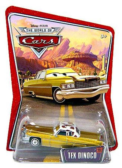 Disney Cars The World of Cars Series 1 Tex Dinoco Diecast Car
