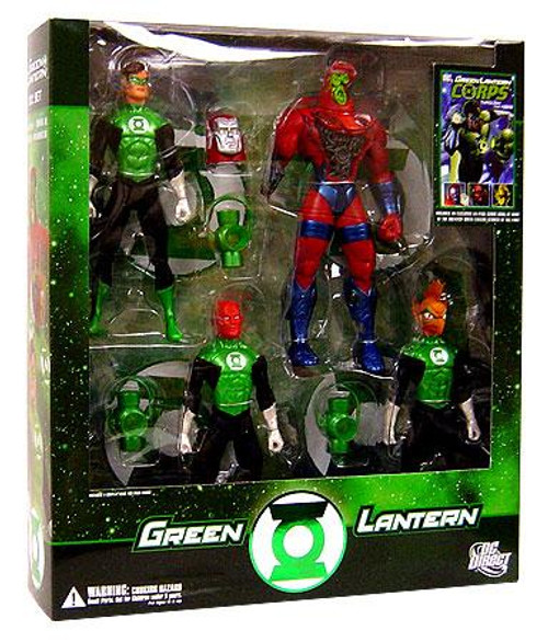 DC Green Lantern Action Figure 4-Pack