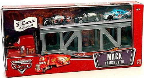 Disney Cars The World of Cars Playsets Mack Transporter Exclusive Diecast Car Playset [Set #2]