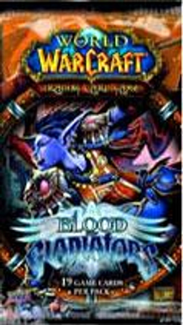 World of Warcraft Trading Card Game Blood of Gladiators Booster Pack