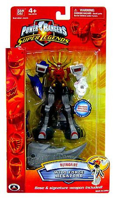 Power Rangers Super Legends Retrofire Series Wild Force MegaZord Action Figure