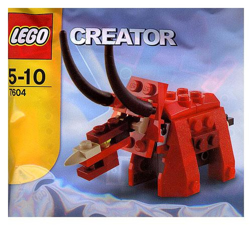 LEGO Creator Triceratops Dinosaur #7604 [Bagged]