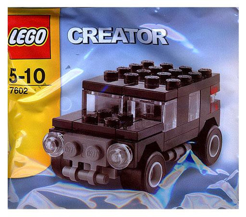 LEGO Creator Hummer Truck Mini Set #7602 [Bagged]