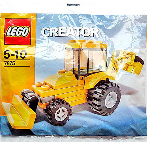 LEGO Creator Backhoe Mini Set #7875 [Bagged]