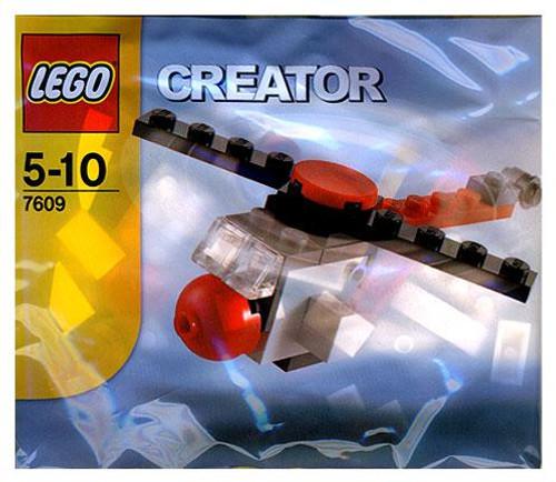 LEGO Creator Helicoptor Mini Set #7609 [Bagged]