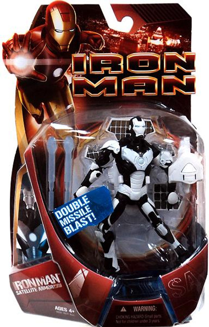 Iron Man Movie Satellite Armor Iron Man Action Figure [White Armor]
