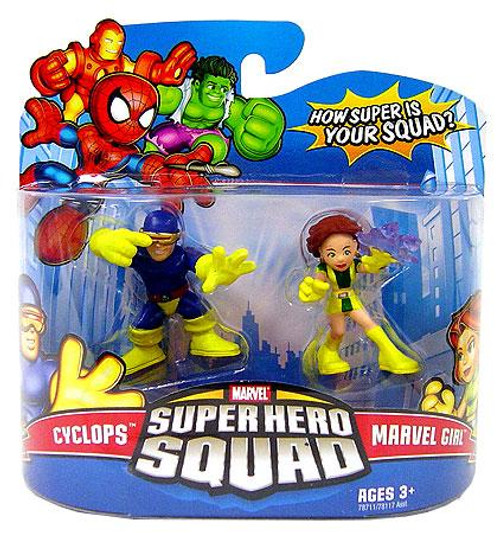 Super Hero Squad Series 11 Cyclops & Marvel Girl Action Figure 2-Pack
