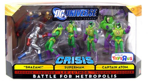 DC Infinite Heroes Crisis Battle for Metropolis Exclusive Action Figure Set