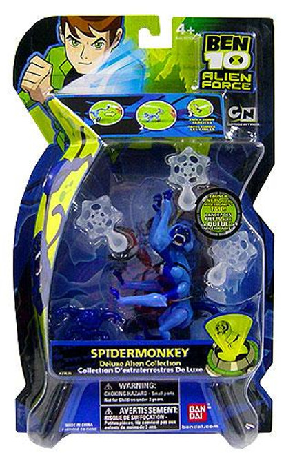 Ben 10 Alien Force Deluxe Alien Collection Spidermonkey Action Figure