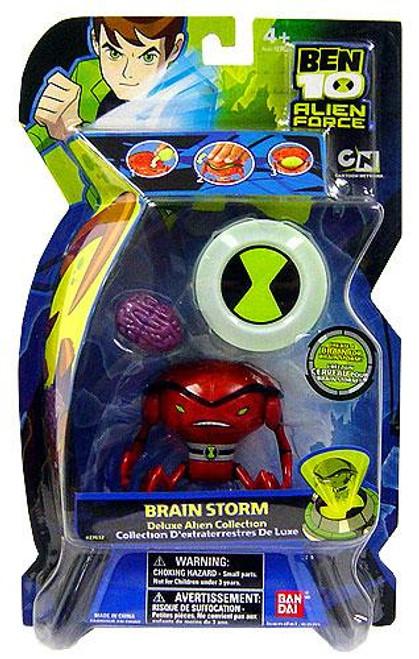 Ben 10 Alien Force Deluxe Alien Collection Brainstorm Action Figure