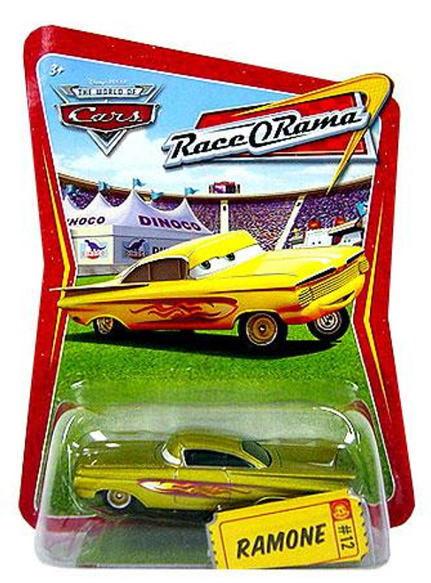 Disney Cars The World of Cars Race-O-Rama Ramone Diecast Car #12 [Gold]