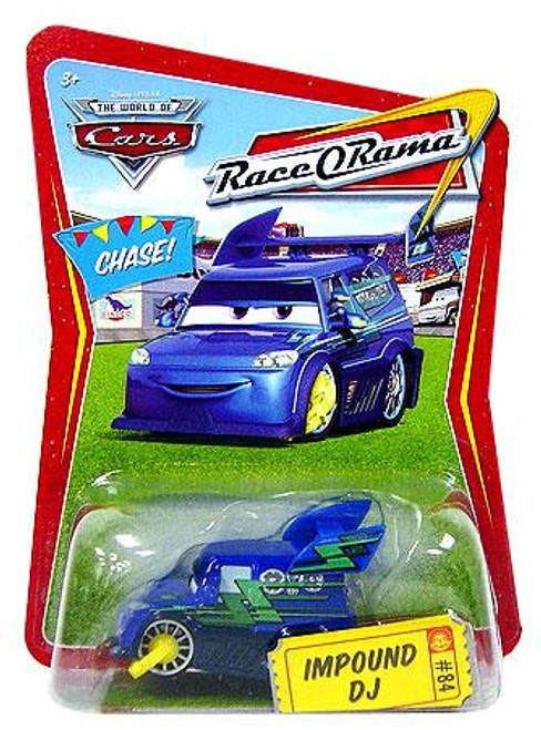Disney Cars The World of Cars Race-O-Rama Impound DJ Diecast Car #84