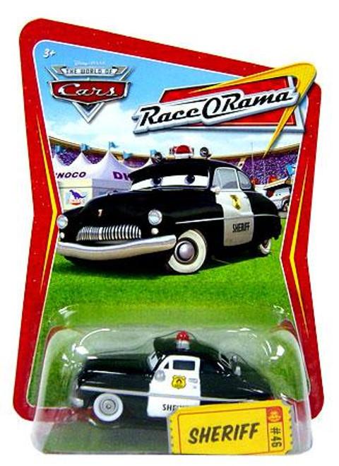 Disney Cars The World of Cars Race-O-Rama Sheriff Diecast Car #46