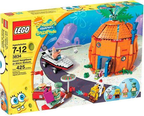 LEGO Spongebob Squarepants Good Neighbors at Bikini Bottom Set #3834