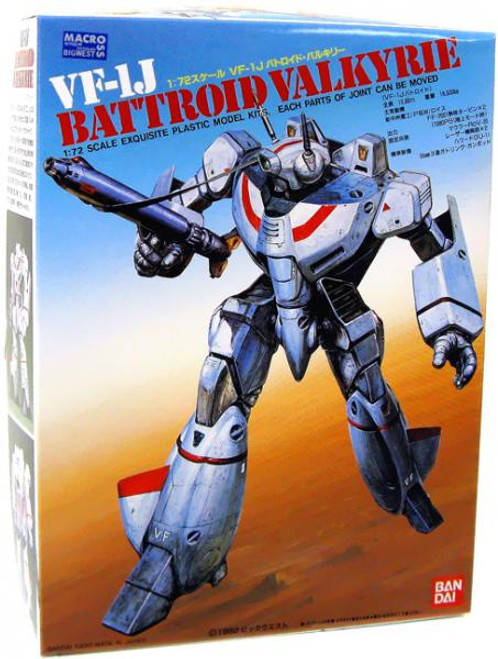 Macross Poseable VF-1J Battroid Valkyrie 1/7 Model Kit