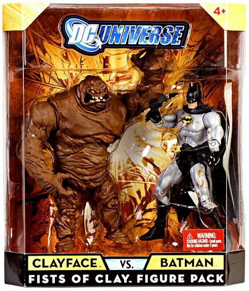 DC Universe Clayface Vs Batman Exclusive Action Figures