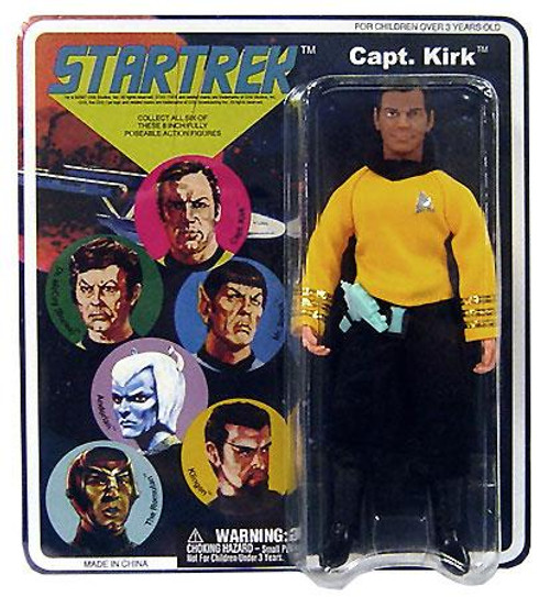 Star Trek The Original Series Cloth Retro Series 1 Captain James T. Kirk Action Figure