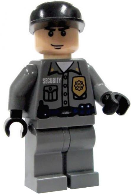 LEGO Batman Loose Arkham Asylum Guard Minifigure #1 [White Loose]