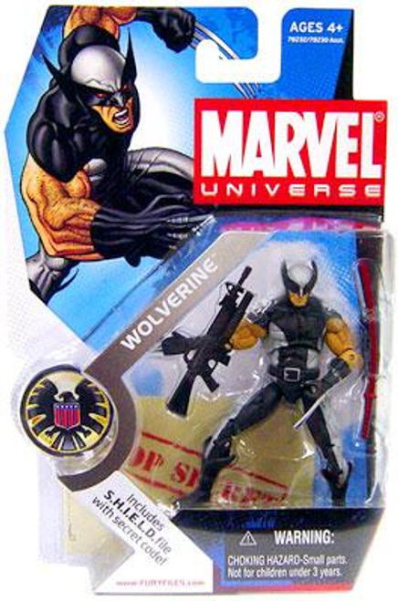 Marvel Universe Series 1 Wolverine Action Figure #6 [X-Force Uniform]