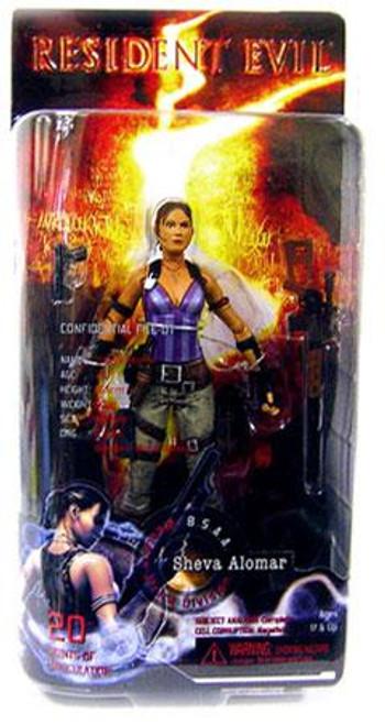 NECA Resident Evil 5 Series 1 Sheva Alomar Action Figure
